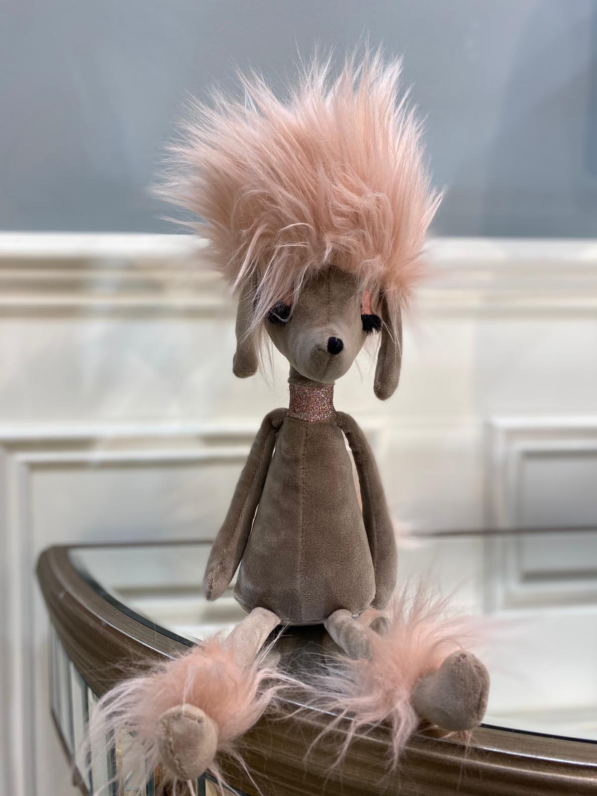 Penelope Poodle Brooch