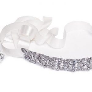 Delicate Eye-Catching Bridal Clear Swarovski Crystal Headpiece