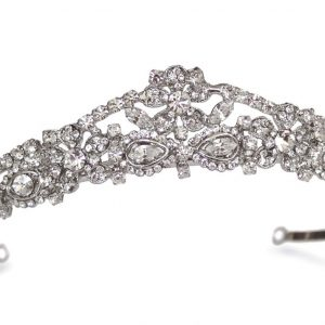 Gorgeous Bridal Clear Swarovski Crystal Tiara