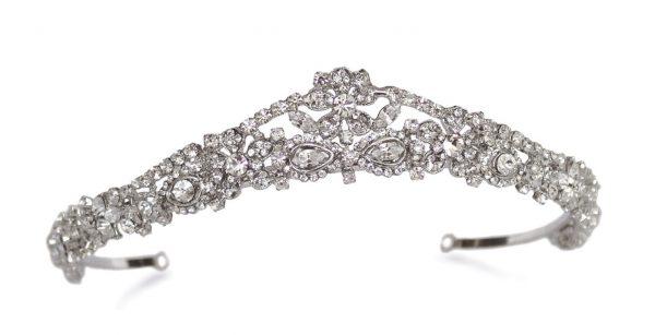 Gorgeous Bridal Clear Swarovski Crystal Tiara