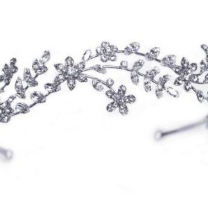 Romantic Bridal Clear Swarovski Crystal Tiara