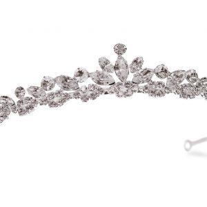 Elegant Bridal Clear Swarovski Crystal Tiara