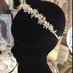 Delicate Bridal Clear Swarovski Crystal Tiara