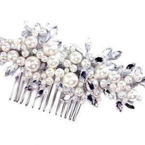 Classic Bridal Clear Swarovski Crystal Hair Comb