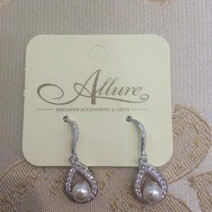 Classical Pearl Tear Drop Earrings