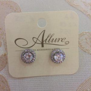 Classical Stud Crystal Earrings