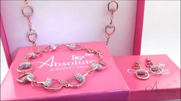 Absolute B581RS Rose Gold Bracelet