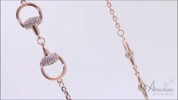 Absolute N581RS Rose Gold Necklace
