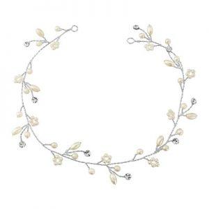 Romantic Ivory Pearl Hair Vine