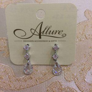 Cute Silver Drop Earrings