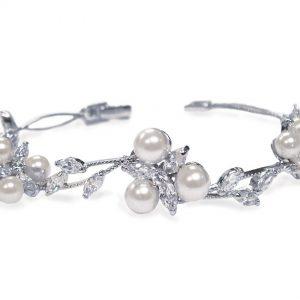 Waterlily Pearl Bracelet