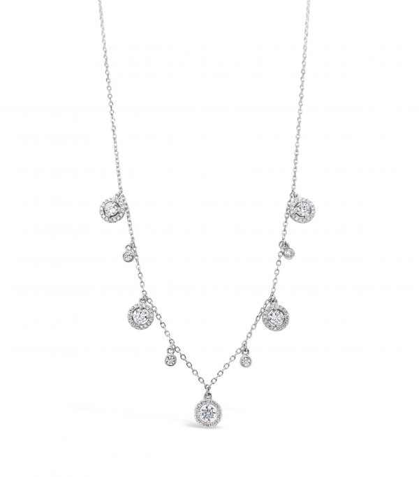 Absolute Sterling Silver Necklace SN100SL