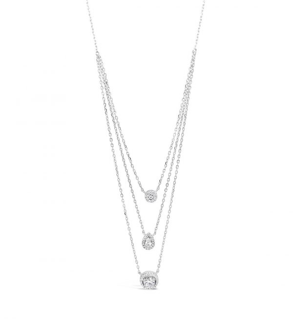 Absolute Sterling Silver Necklace SN111SL