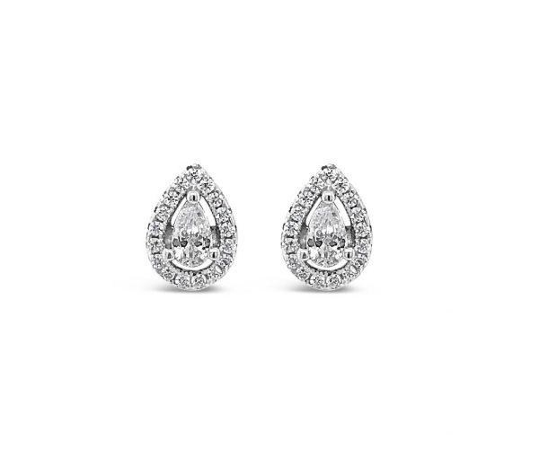 Absolute Sterling Silver Earrings SE121SL