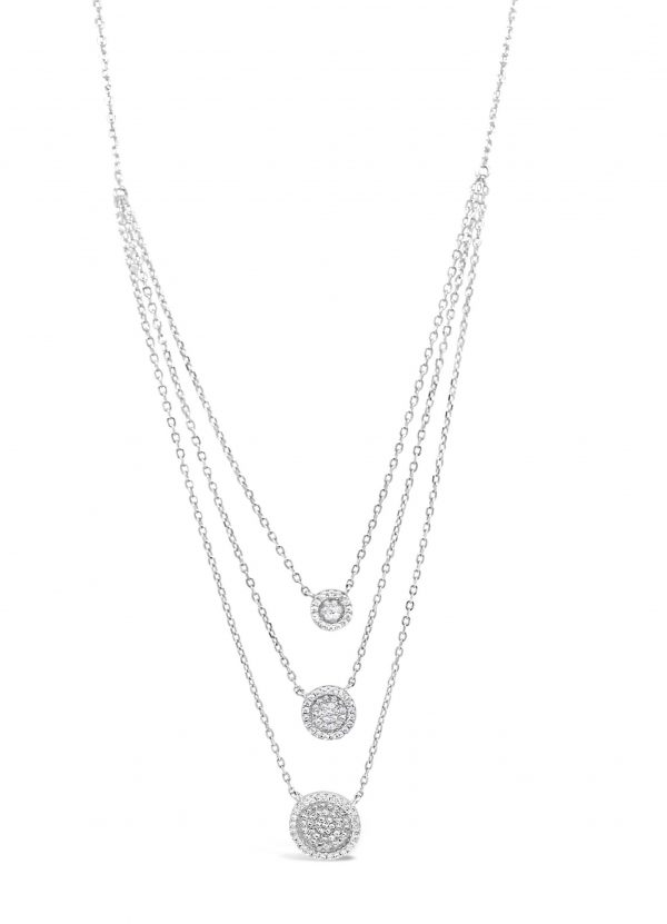 Absolute Sterling Silver Necklace SN112SL