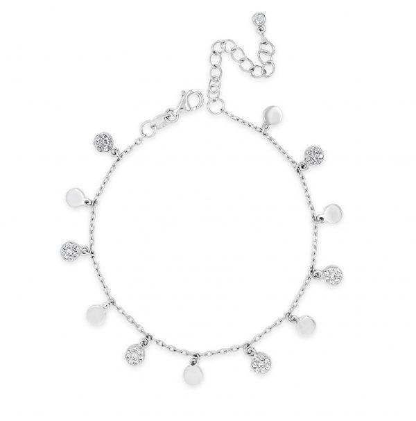 Absolute Sterling Silver Bracelet SB105SL