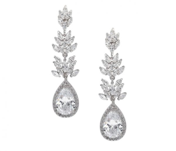 Exquisite Crystal Drop Chandelier Earrings
