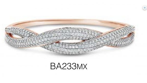 BA233 MX Absolute Two Tone Bangle