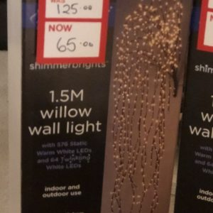 1.5m Willow Wall Light