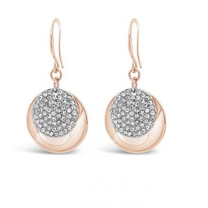ABSOLUTE E2074MX ROSE GOLD MIX EARRINGS