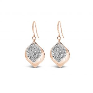 ABSOLUTE E2073MX ROSE GOLD MIX EARRINGS