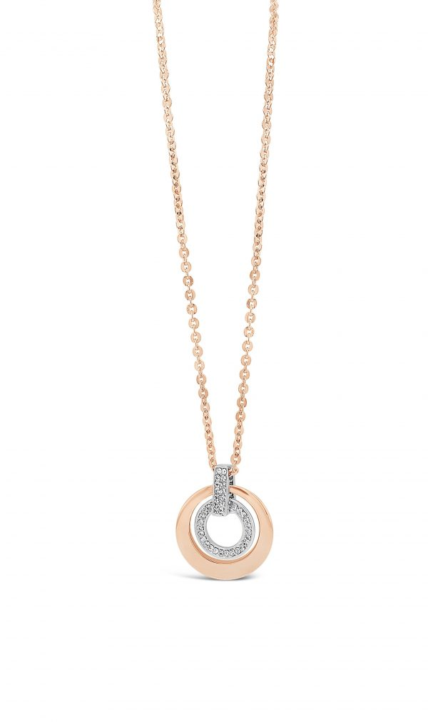 ABSOLUTE N2079MX ROSE GOLD MIX NECKLACE