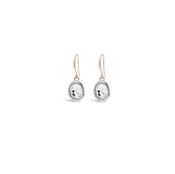 ABSOLUTE E2078MX ROSE GOLD MIX EARRINGS