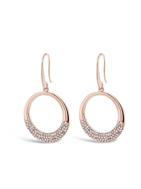 ABSOLUTE E2098RS ROSE GOLD EARRINGS