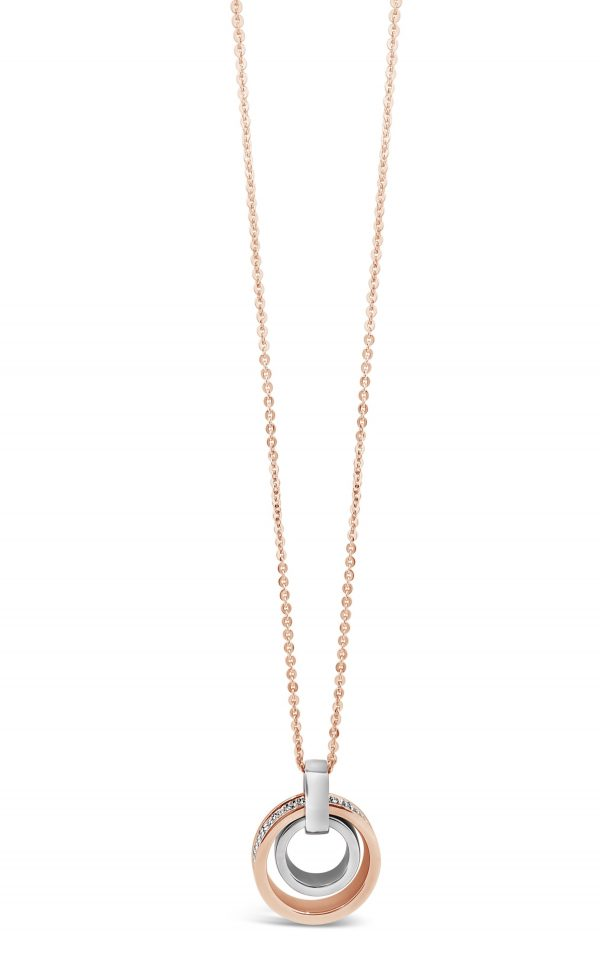 ABSOLUTE N2085MX ROSE GOLD MIX NECKLACE