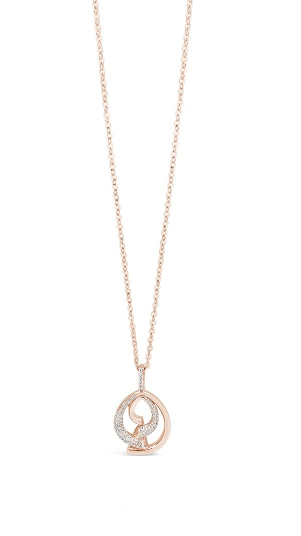 ABSOLUTE N2113RS ROSE GOLD NECKLACE