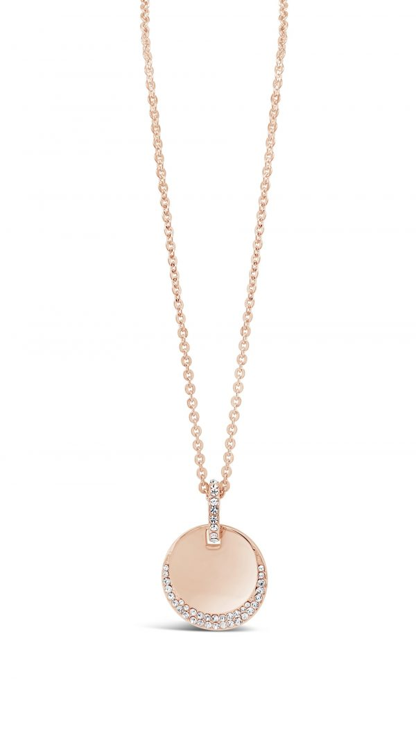 ABSOLUTE N2101RS ROSE GOLD NECKLACE