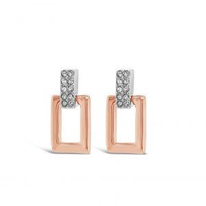 ABSOLUTE E2080MX ROSE GOLD EARRINGS