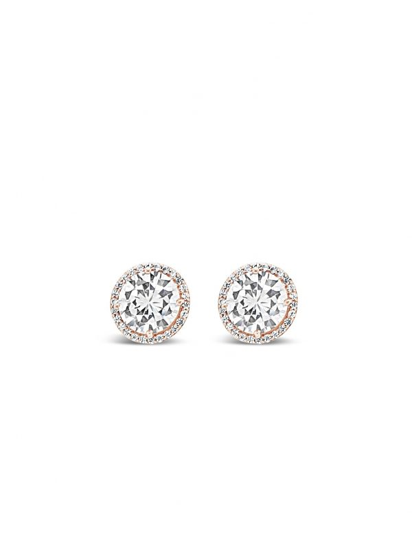 ABSOLUTE E2055RS ROSE GOLD EARRINGS