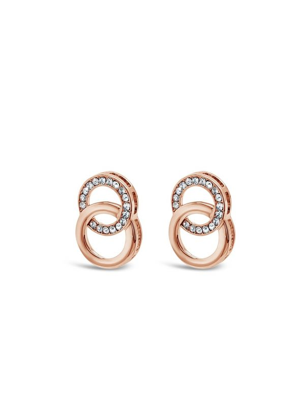 ABSOLUTE E2082RS ROSE GOLD EARRINGS