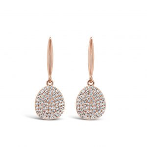 ABSOLUTE E2103RS ROSE GOLD EARRINGS