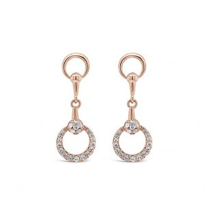 ABSOLUTE E2102RS ROSE GOLD EARRINGS
