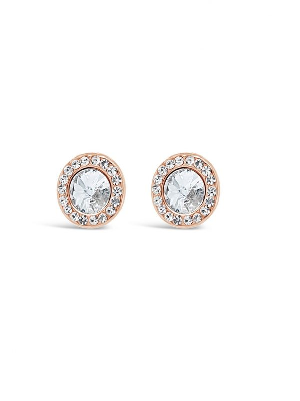 ABSOLUTE E2100RS ROSE GOLD EARRINGS