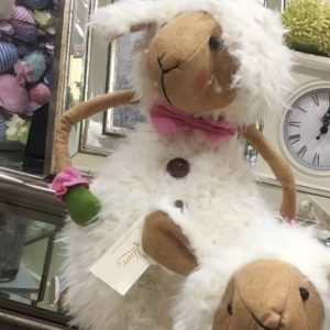 Cute Extenable Sheep (up to 75cm) Male with Bow