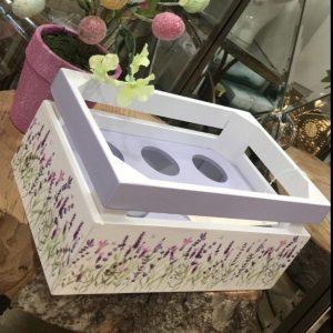Lavender Egg Holder