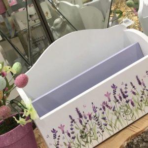 Lavender Envelope/ Letter Holder