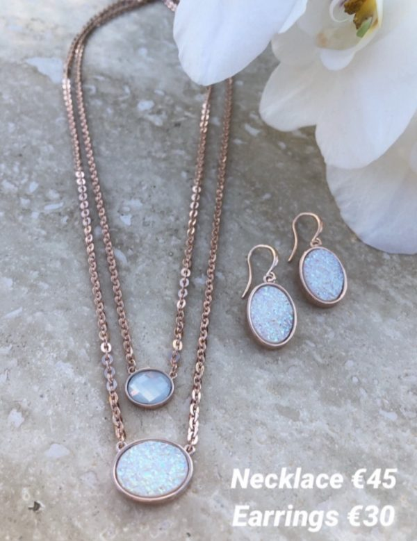 ABSOLUTE N2069CR ROSE GOLD NECKLACE