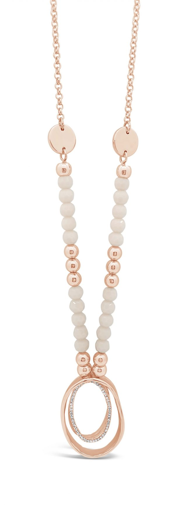 ABSOLUTE N2091RS ROSE GOLD NECKLACE