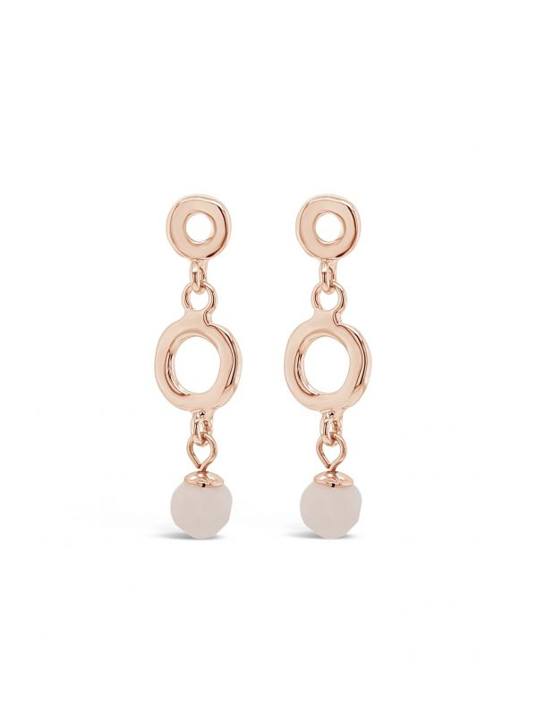 ABSOLUTE E2091RS ROSE GOLD EARRINGS