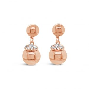 ABSOLUTE E099RS ROSE GOLD EARRINGS