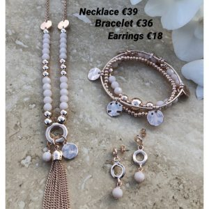 ABSOLUTE N2090RS ROSE GOLD NECKLACE