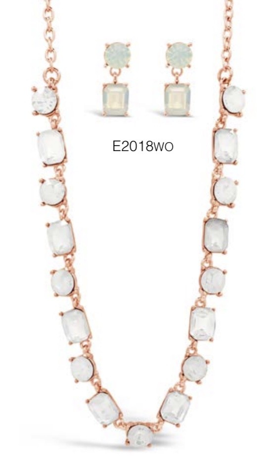 ABSOLUTE N2018WO ROSE GOLD NECKLACE