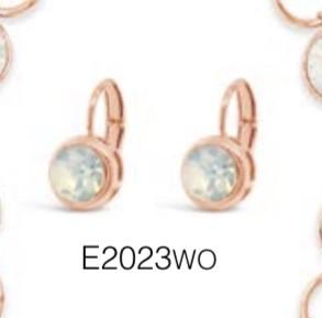 ABSOLUTE E2023WO ROSE GOLD EARRINGS