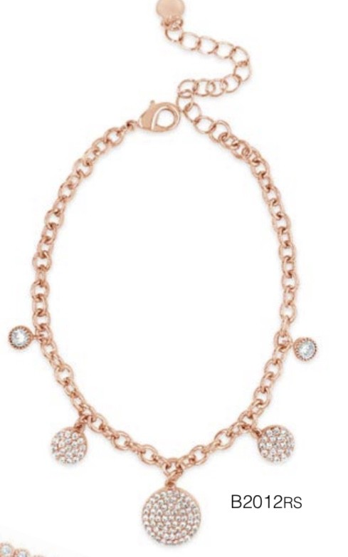 ABSOLUTE B2012RS ROSE GOLD BRACELET