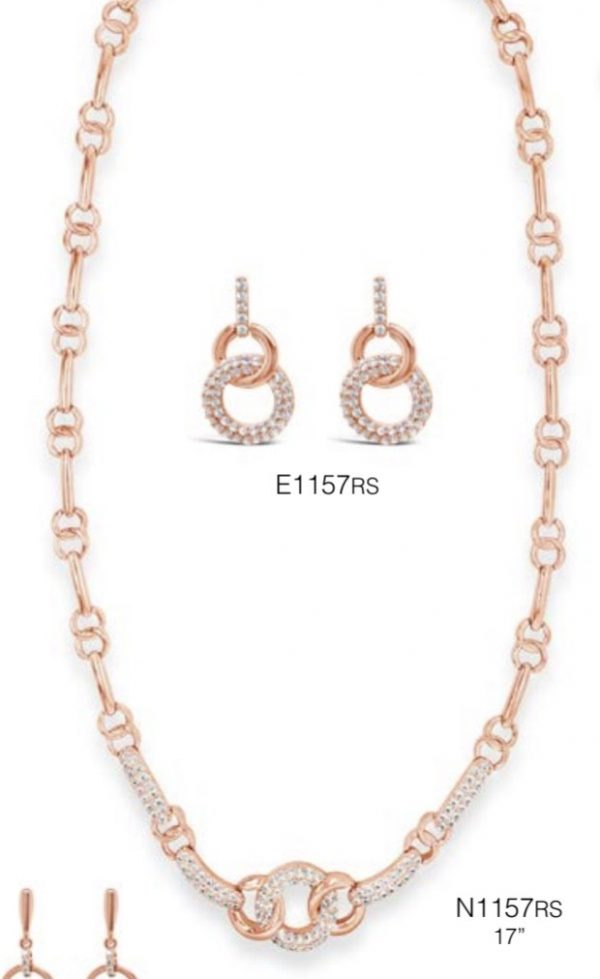 ABSOLUTE N1157RS ROSE GOLD NECKLACE