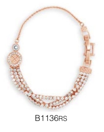 ABSOLUTE B1136RS ROSE GOLD BRACELET